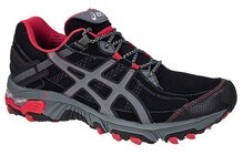 Asics Men's Gel Trabuco 14 black storm red
